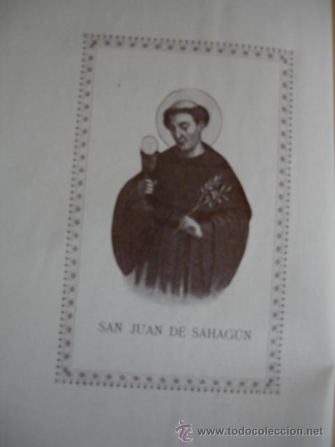 Libros antiguos: VIDA DE SAN JUAN DE SAHAGUN.TOMAS CAMARA.1925.398 PG FOTO.SALAMANCA - Foto 2 - 54873626