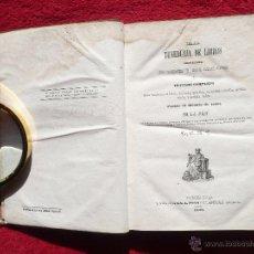 Libros antiguos: LA TENEDURIA DE LIBROS. J.J. JACLOT. S.S. A. PONS EDITORES. IMPRENTA DE JOSÉ TAULÓ. BARCELONA. 1840. Lote 54978114