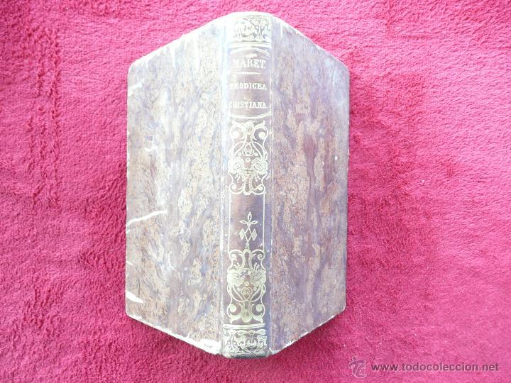 TEODICEA CRISTIANA . H.L.C. MARET. TRADUC. J.M.Y F. LIBRERIA RELIGIOSA. 1854 BARCELONA (Libros Antiguos, Raros y Curiosos - Ciencias, Manuales y Oficios - Otros)