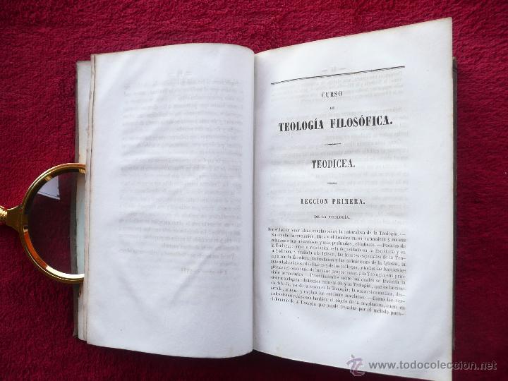 Libros antiguos: TEODICEA CRISTIANA . H.L.C. MARET. TRADUC. J.M.Y F. LIBRERIA RELIGIOSA. 1854 BARCELONA - Foto 9 - 54992872