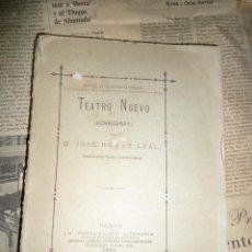 Libros antiguos: JOSÉ ROMÁN LEAL - TEATRO NUEVO (ECHEGARAY) - HABANA CUBA 1880. Lote 54997532