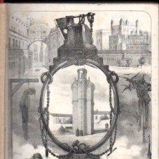 Libros antiguos: LAS PRISIONES DE EUROPA TOMO I (1862) LA CIUDADELA DE BARCELONA, LA ABADIA, LAS CÁRCELES DE MADRID.. Lote 55035090