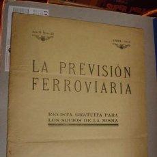 Libros antiguos: LA PREVISIÓN FERROVIARIA - PORTAL DEL COL·LECCIONISTA***. Lote 55048131