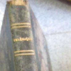 Libros antiguos: LES AVENTURES DE TÉLÉMAQUE F. SALIGNAC DE LA MOTHE FÉNELON EDIT FÉLIX LOCQUIN SIGLO XIX. Lote 55052637