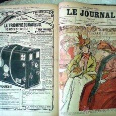 Libros antiguos: LE JOURNAL POUR TOUS 1901-1902. Lote 55058448