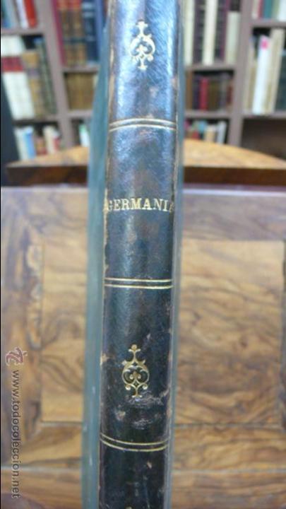 Libros antiguos: GERMANIA. DOS MIL AÑOS DE HISTORIA ALEMANA. JUAN SCHERR. MONTANER Y SIMON. 1882. - Foto 2 - 55071241