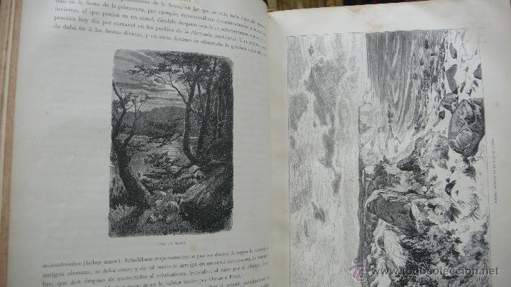 Libros antiguos: GERMANIA. DOS MIL AÑOS DE HISTORIA ALEMANA. JUAN SCHERR. MONTANER Y SIMON. 1882. - Foto 3 - 55071241