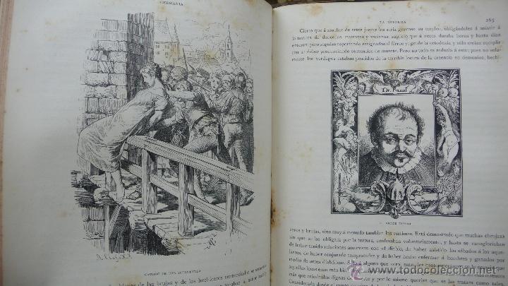 Libros antiguos: GERMANIA. DOS MIL AÑOS DE HISTORIA ALEMANA. JUAN SCHERR. MONTANER Y SIMON. 1882. - Foto 6 - 55071241