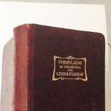 Libros antiguos: FORMULARIO DE TERAPEÚTICA POR G. LYON &... 831 PÁGS FÓRMULAS FÁRMACOS ANTIGUOS.. Lote 55077667