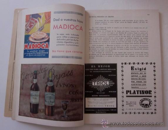 Libros antiguos: MENAGE: NOVIEMBRE DE 1933 Y MARZO DE 1934 - Foto 4 - 55080814