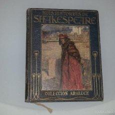 Libros antiguos: MAS HISTORIAS DE SHAKESPEARE - COLECCION ARALUCE EDITORIAL - JEANIE LANG - 2ª EDICION - AÑO 1914. Lote 55118971
