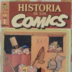 Libros antiguos: LOTE NUMEROS 1 Y 2 DE HISTORIA DE LOS COMICS - TOUTAIN EDITOR - ESPAÑA!. Lote 55150491