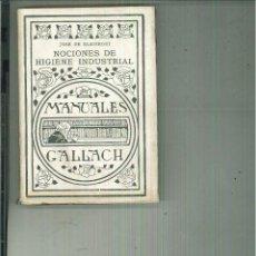 Libros antiguos: NOCIONES DE HIGIENE INDUSTRIAL.. Lote 55169551