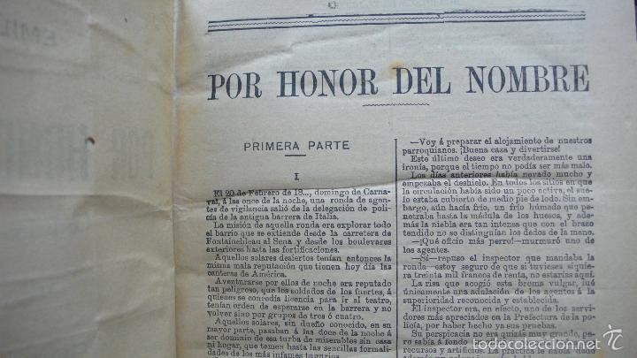 Libros antiguos: POR HONOR DEL NOMBRE EMILIO-GABORIAU Y NOVENTA Y TRES DE VÍCTOR HUGO. 2 OBRAS. 1894-95. - Foto 2 - 55185972