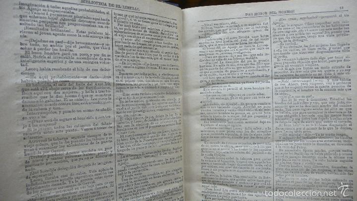 Libros antiguos: POR HONOR DEL NOMBRE EMILIO-GABORIAU Y NOVENTA Y TRES DE VÍCTOR HUGO. 2 OBRAS. 1894-95. - Foto 3 - 55185972