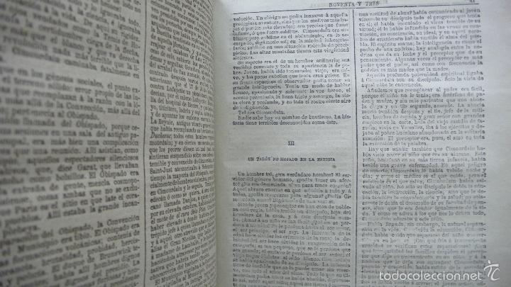 Libros antiguos: POR HONOR DEL NOMBRE EMILIO-GABORIAU Y NOVENTA Y TRES DE VÍCTOR HUGO. 2 OBRAS. 1894-95. - Foto 5 - 55185972