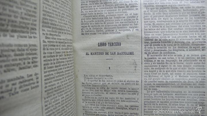 Libros antiguos: POR HONOR DEL NOMBRE EMILIO-GABORIAU Y NOVENTA Y TRES DE VÍCTOR HUGO. 2 OBRAS. 1894-95. - Foto 6 - 55185972