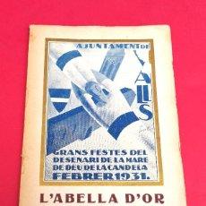 VALLS - L'ABELLA D'OR 1931