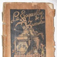 Libros antiguos: LA ESQUELLA DE LA TORRATXA. ALMANACH 1905.. Lote 55388005