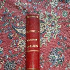 Libros antiguos: LECTURES AGREABLES EXTRAITES DES BEAUX OUVRAGES. J.CALOPA ARMENGOL. SANTANDER. 1903.A. Lote 55399746