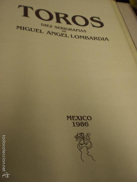 GRAN LIBRO DE TOROS - PINTOR LOMBARDÍA (Libros Antiguos, Raros y Curiosos - Bellas artes, ocio y coleccionismo - Otros)