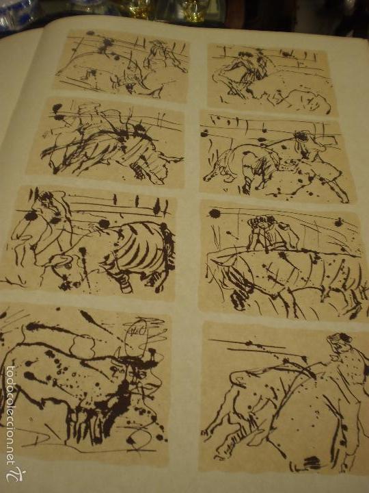 Libros antiguos: GRAN LIBRO DE TOROS - PINTOR LOMBARDÍA - Foto 2 - 55636256