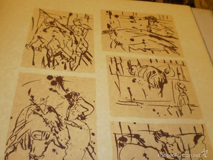 Libros antiguos: GRAN LIBRO DE TOROS - PINTOR LOMBARDÍA - Foto 3 - 55636256