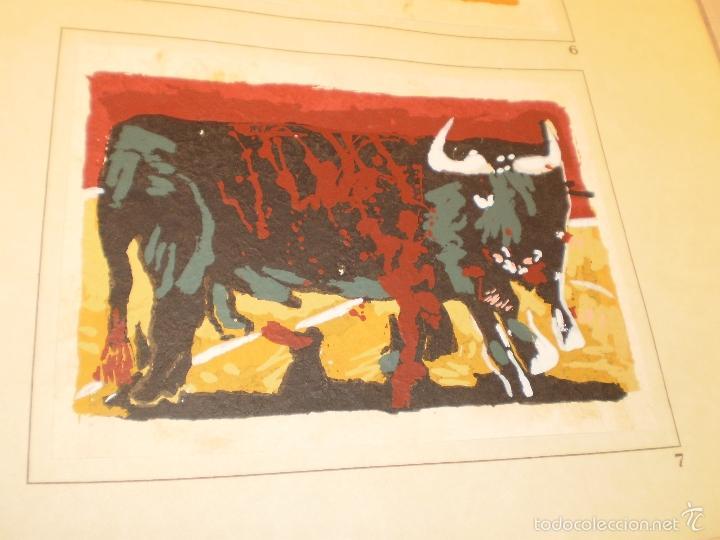 Libros antiguos: GRAN LIBRO DE TOROS - PINTOR LOMBARDÍA - Foto 4 - 55636256