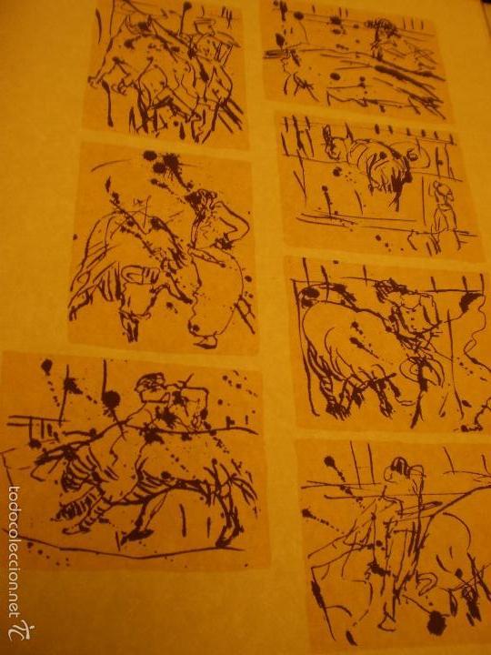 Libros antiguos: GRAN LIBRO DE TOROS - PINTOR LOMBARDÍA - Foto 5 - 55636256