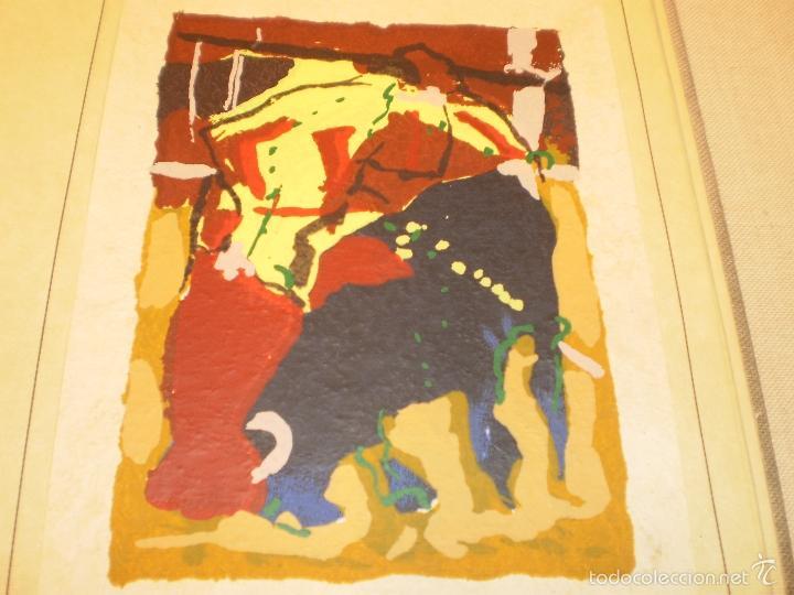 Libros antiguos: GRAN LIBRO DE TOROS - PINTOR LOMBARDÍA - Foto 8 - 55636256