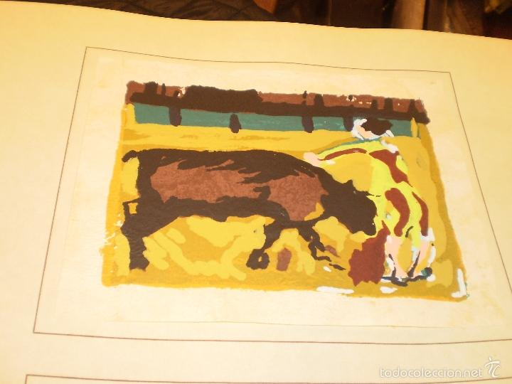 Libros antiguos: GRAN LIBRO DE TOROS - PINTOR LOMBARDÍA - Foto 9 - 55636256