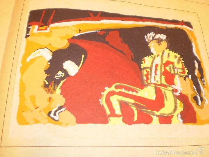 Libros antiguos: GRAN LIBRO DE TOROS - PINTOR LOMBARDÍA - Foto 10 - 55636256