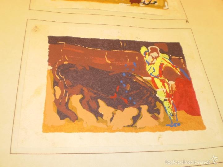 Libros antiguos: GRAN LIBRO DE TOROS - PINTOR LOMBARDÍA - Foto 12 - 55636256