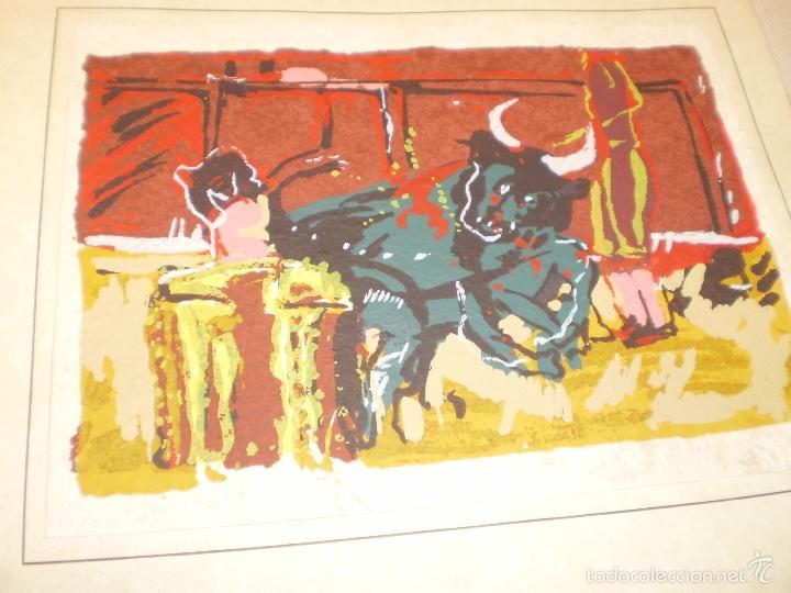 Libros antiguos: GRAN LIBRO DE TOROS - PINTOR LOMBARDÍA - Foto 14 - 55636256