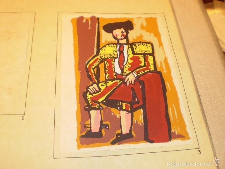 Libros antiguos: GRAN LIBRO DE TOROS - PINTOR LOMBARDÍA - Foto 15 - 55636256