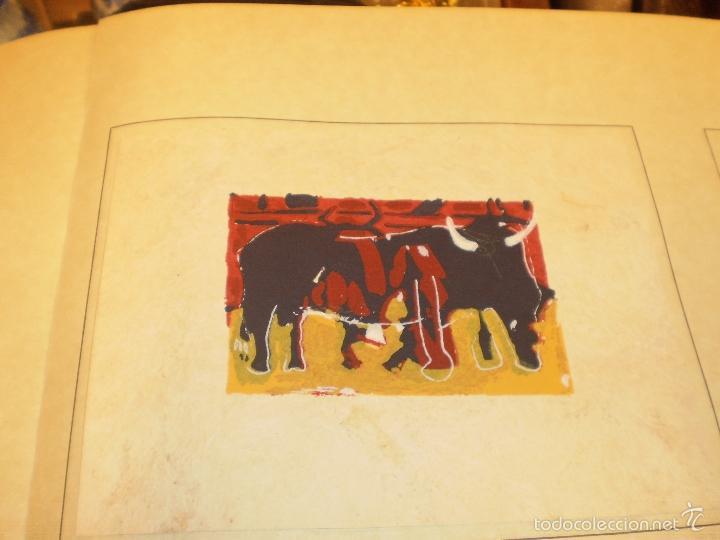 Libros antiguos: GRAN LIBRO DE TOROS - PINTOR LOMBARDÍA - Foto 16 - 55636256