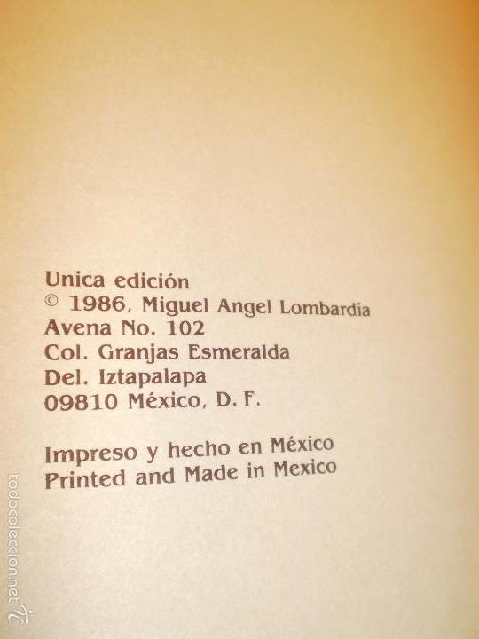 Libros antiguos: GRAN LIBRO DE TOROS - PINTOR LOMBARDÍA - Foto 17 - 55636256