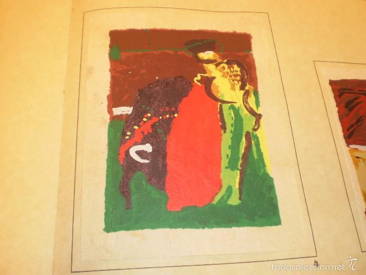 Libros antiguos: GRAN LIBRO DE TOROS - PINTOR LOMBARDÍA - Foto 19 - 55636256