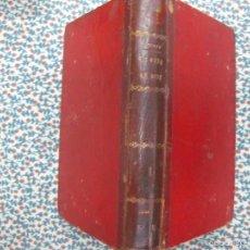 Libros antiguos: J. MENENDEZ AGUSTY. LA OBRA DE DIOS TOMO I. ED. DE LEZCANO Y Cª. 1902. DEDICATORIA DEL AUTOR.. Lote 55644056