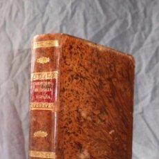 Libros antiguos: COMPENDIO DE LA HISTORIA DE ESPAÑA - AÑO 1838 - A.G.RANERA - PIEL·CONTIENE EL MAPA DESPLEGABLE.. Lote 55691470