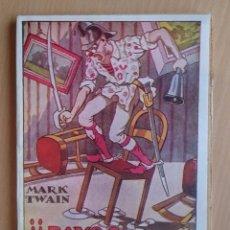 Libros antiguos: ¡¡RAYOS TRUENOS Y CENTELLAS!! - MARK TWAIN. Lote 55709883