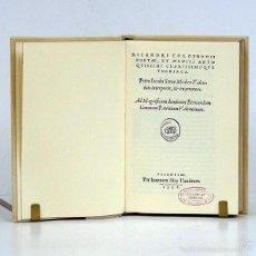 Libros antiguos: THERIACA. NICANDRI COLOPHONI. NICANDRO DE COLOFÓN. NICANDRI COLOPHONII. FACSÍMIL 1552 VICENT GARCÍA. Lote 55732526