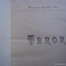Libros antiguos: FRANCISCO GONZÁLEZ DIAZ, TEROR. LAS PALMAS DE GRAN CANARIA. CANARIAS. 1918. Lote 55774302