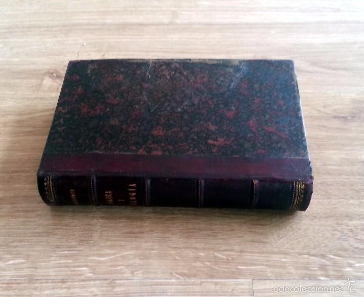 Libros antiguos: LIBRO ANTIGUO 1894. LÓGICA Y ONTOLOGÍA. P. JOSÉ MENDIVE. 270 PÁG. LOMO PIEL CON NERVADURAS. - Foto 2 - 55798803
