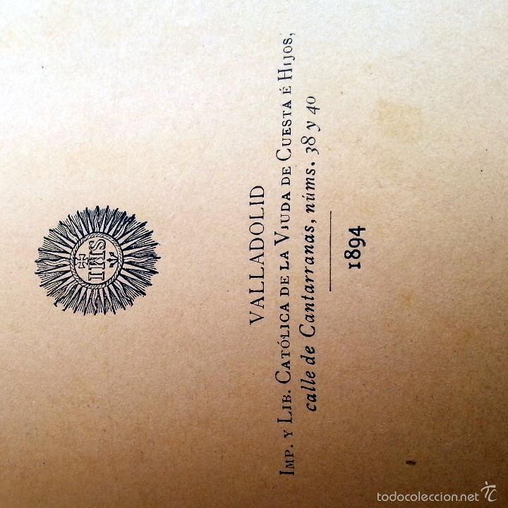 Libros antiguos: LIBRO ANTIGUO 1894. LÓGICA Y ONTOLOGÍA. P. JOSÉ MENDIVE. 270 PÁG. LOMO PIEL CON NERVADURAS. - Foto 3 - 55798803