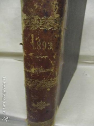 Libros antiguos: Libro volumen revista - La Ilustración Ibérica 1893 - Tomo Undecimo - Editor + Ramon Molinas - Foto 3 - 55804982