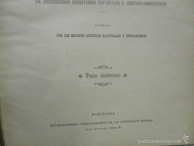 Libros antiguos: Libro volumen revista - La Ilustración Ibérica 1893 - Tomo Undecimo - Editor + Ramon Molinas - Foto 8 - 55804982