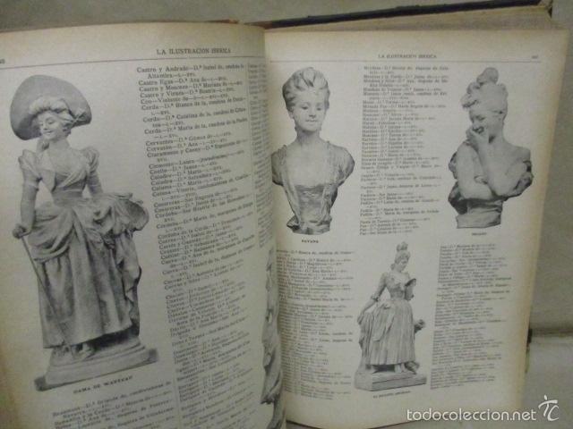 Libros antiguos: Libro volumen revista - La Ilustración Ibérica 1893 - Tomo Undecimo - Editor + Ramon Molinas - Foto 10 - 55804982