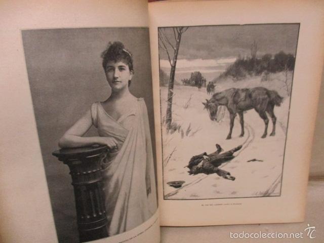 Libros antiguos: Libro volumen revista - La Ilustración Ibérica 1893 - Tomo Undecimo - Editor + Ramon Molinas - Foto 11 - 55804982