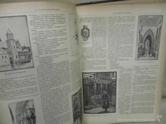 Libros antiguos: Libro volumen revista - La Ilustración Ibérica 1893 - Tomo Undecimo - Editor + Ramon Molinas - Foto 12 - 55804982